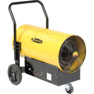 TPI Fostoria Salamander Heater Portable Electric FES-4548-3 - 153585 BTU 480V 3 Phase Yellow-1