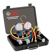 FJC 6785 R134a Aluminum Manifold Promo Kit-1