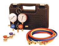 FJC 6799 R134a Extended Hose Manifoldgage Set-1