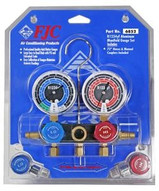 FJC 6852 R1234yf Manifold Set With 72hoses And Manual Couplers-1