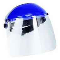 Firepower 1423-4175 8x12 Clear Face Shield With Ratcheting Head Gear-1