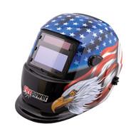 Firepower Victor 1441-0087 Auto Dark Weld Helmet Stars &stripes Eagle-1