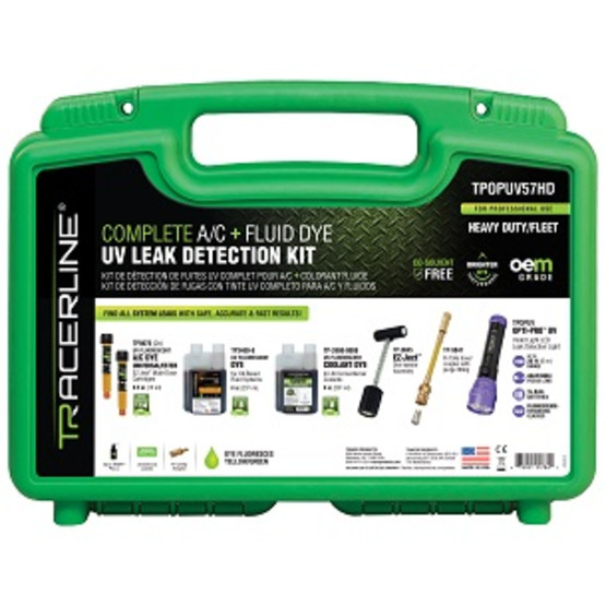 Tracer Products TPUPUV57HD Complete Ac + Fluid Dye Uvleak Detection Kit-1