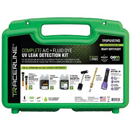 Tracer Products TPUPUV57HD Complete Ac + Fluid Dye Uvleak Detection Kit-2