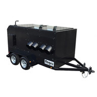 Flagro FVO-1100TR 800000 BTU Indirect Fired Heater Trailer-Oil-1