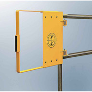 Fabenco G94-45 Stainless Steel Clamp-on Self-closing Safety Gate Fits 42-48 Opening 22 Vertical Coverage-3