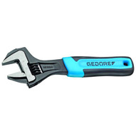 Gedore 60 S 10 JP Adjustable Wrench 10 Open End Phosphated With Plastic Handle-1
