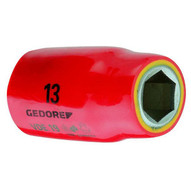 Gedore VDE 19 17 Vde Insulated Socket 12 17 Mm-1