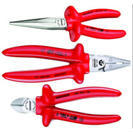 Gedore VDE S 8003 Vde Insulated Pliers Set With Vde Insulated Dipped Insulation 3 Pcs-1