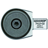 Gedore 7412-01 Rectangular Reversible Ratchet Head 38 Se 9x12-1