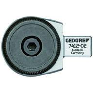 Gedore 7412-02 Rectangular Reversible Ratchet Head 12 Se 9x12-1