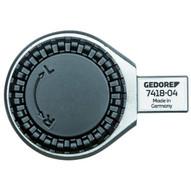 Gedore 7418-04 Rectangular Reversible Ratchet Head 34 Se 14x18-1