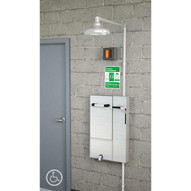 Guardian GBF2173 Recessed Safety Station With Drain Pan And Daylight Drain Surface Mounted-1