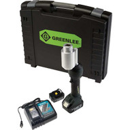 Greenlee LS100X11A Intelli-punch&#0153 11-ton Tool With Batteries Charger & Case-1