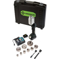 Greenlee LS100X11SBSP4X Intelli-punch&#0153 11-ton Tool With Slugbuster&#174 Speedpunch&#174 Knockouts 12 To 3 And 4-1