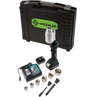 Greenlee LS100X11SBSP Intelli-punch&#0153 11-ton Tool With Slugbuster&#174 Speedpunch&#174 Knockouts 12-2-1