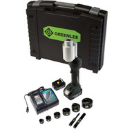 Greenlee LS100X11SB Intelli-punch&#0153 11-ton Tool With Slugbuster&#174 Knockouts 12 To 2-1