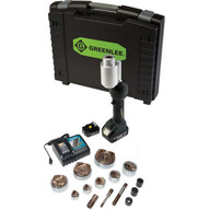 Greenlee LS100X11SS4X Intelli-punch&#0153 11-ton Tool With Slugsplitter&#174 Knockouts 12 To 3 And 4-1