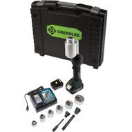 Greenlee LS100X11SSSP Intelli-punch#0153 11-ton Tool With Slugsplitter&#174 Speedpunch&#174 Knockouts 12-2-1