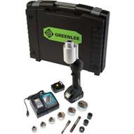 Greenlee LS100X11SS Intelli-punch&#0153 11-ton Tool With Slugsplitter&#174 12-2-1