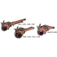 Gearench DA1344 Petol Drill Pipe Tong O.D.: 1-6 in.-1