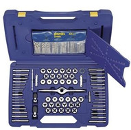 Irwin Hanson 1841432 116-piece Machine Sae Metric Self Alignment Tap & Die Set-1