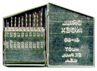 Irwin Hanson 80183 20 Piece Number Drill Bit Set (61-80)-1