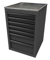 Homak Mfg BK08022070 22 Rs Pro Series Side Cabinet- Black-1