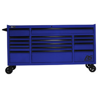 Homak Mfg BL04072160 72 Rspro Series Rollercabinet- Blue-1