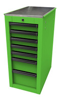Homak Mfg LG08014070 14 12 Rs Pro Series Sidecabinet - Lime Green-1