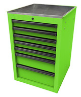 Homak Mfg LG08022070 22 Rs Pro Series Side Cabinet- Lime Green-1