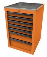 Homak Mfg OG08022070 22 Rs Pro Series Side Cabinet- Orange-1