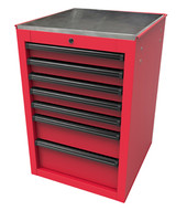 Homak Mfg RD08022070 22 Rs Pro Series Side Cabinet- Red-1