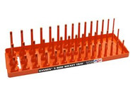 Hansen Global Inc. 38063 Xorange 38 Dr. Metric 3 Rowmulti Length Socket Holder-1
