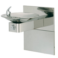 Haws 1001hpsms Barrier Free Drinking Fountain Stainless Steel Bowl-1