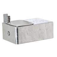 Haws 1025g Barrier Free Drinking Fountain Galvanized Finish-1