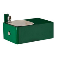 Haws 1025 Barrier Free Drinking Fountain Green Powerd Coated-1