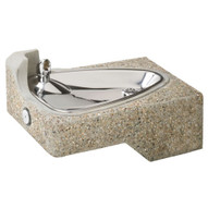 Haws 1047 Barrier Free Drinking Fountain Vibra-cast Reinforced Concrete-1