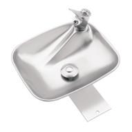 Haws 4010 Single Bubbler Drinking Fountain Stainless Steel-1