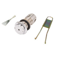 Haws 5874pbf Lead Free Push Activated Valve Stainless Steel-1