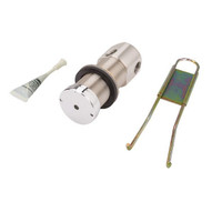 Haws 5874pb Lead Free Push Activated Valve Stainless Steel-1