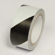 Incom LWT222 Blackwhite Laminated Hazard Marking Tape (2 X 108')-1
