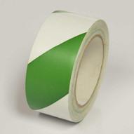 Incom LWT223 Greenwhite Laminated Hazard Marking Tape (2 X 108')-1
