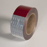 Incom V57203SR Redwhite Dot-c2 Conspicuity Tape (711) 2 X 30'-1