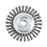 Itm Tools SBS100 4 Stringer Bead Wheel Stainless Steel Wire Brush-1