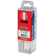 Itm Tools W125-B 12 X 6t Wood & Nail Sawzall Blade (50pack)-1