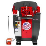 Edwards IW50-3P208 50 Ton Ironworker 208v 3ph-4
