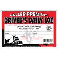 J.J. Keller 701L Driver's Daily Log Book w No DVIR 2-Ply Carbonless wRecap (MOST POPULAR)-1