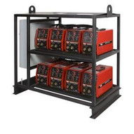 Lincoln Electric K2666-2 V275-S 8-Pack Inverter Rack Multi-Operator Welder-1