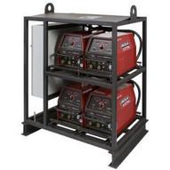 Lincoln Electric K2667-1 V350-PRO 4-Pack Rack Multi-Operator Welder-1